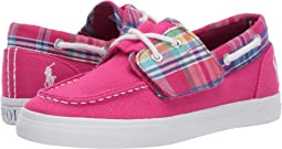 Sport Pink Heavy Twill/Multi Plaid/White Pony
