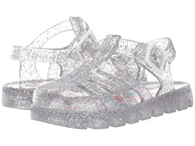 Joules Kids Jelly Shoe (Toddler) (Silver) Girls Shoes