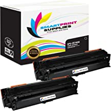 Smart Print Supplies Compatible 307A CE740A Black Toner Cartridge Replacement for HP Laserjet CP5225DN CP5225N Printers (7,000 Pages) - 2 Pack