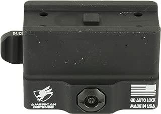American Defense AD-T1-10 STD Riflescope Optic Mount, Black