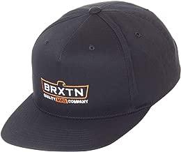 Brixton Cruss MP Snapback Cap - Black