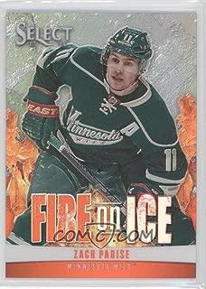 Hockey NHL 2013-14 Select Fire on Ice Stars Prizms #18 Zach Parise 10/25 Wild