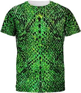 Halloween Green Snake Snakeskin Costume All Over Mens T Shirt
