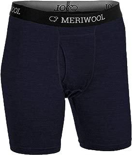 Mens Boxer Briefs Merino Wool Underwear Base Layer for Men