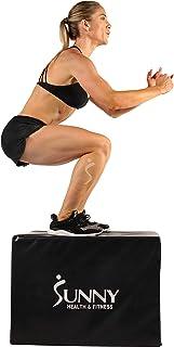 Sunny Health & Fitness No. 072 3-in-1 Foam Fitness Plyo Box