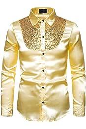 KLJR Men Autumn Button Up Velvet Long Sleeve Fashion Loose Shirts