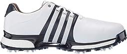 Footwear White/Collegiate Navy/Silver Metallic