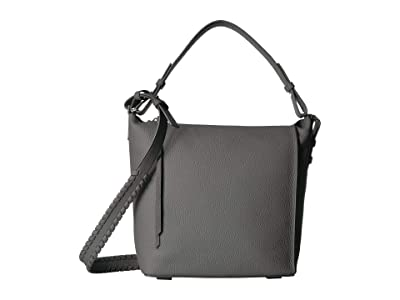AllSaints Kita Crossbody (Storm Grey) Cross Body Handbags