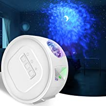 Star Projector, LC-dolida Night Light Projector with Timer Adjustable Nebula & Moon Mode ,Galaxy Lamp for Kids Gift, Adult...