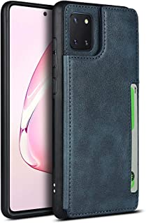 SailorTech for Galaxy Note 10 Lite Wallet Leather Case with Kickstand, Card Slots, Wrist Strap, Double Magnetic Buckle Dur...