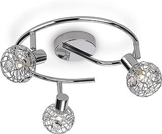Philips Lighting Lámpara de techo G9, 5 W, Gris, 3 focos
