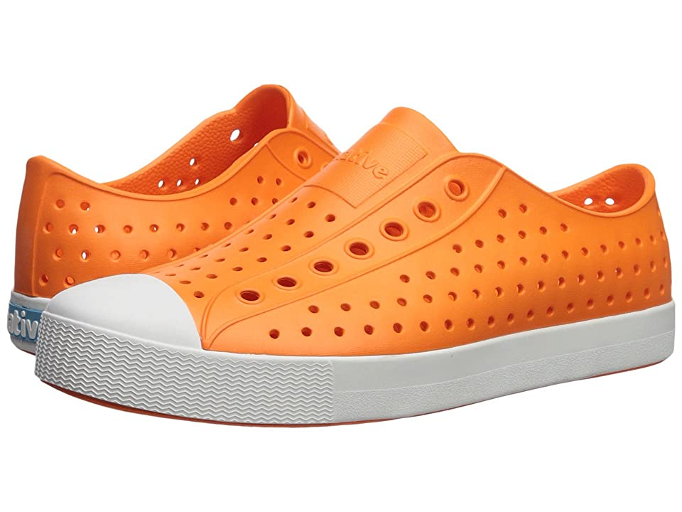 Native Shoes Jefferson (Sunset Orange/Shell White) Shoes