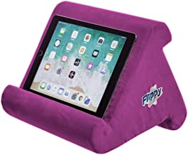 Flippy Multi-Angle Soft Pillow Lap Stand for iPads, Tablets, eReaders, Smartphones, Books, Magazines (Orchid)