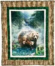 Minky Borderline Brother Bear Cuddle Kit Quilt Kit Shannon Fabrics