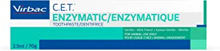 Virbac Enzymatic Toothpaste, 2.5 Ounce, Vanilla-Mint Flavor, 1 pack