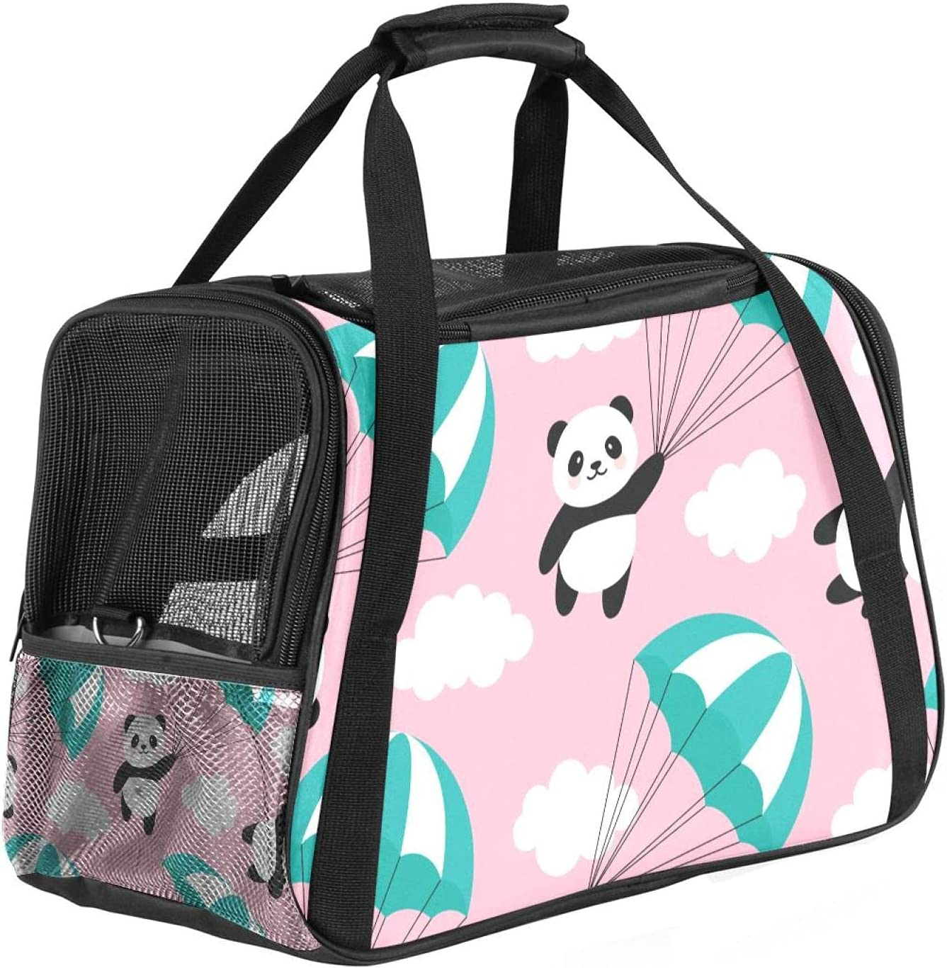 Airline Approved Soft Sided Pet Tote Carrier Series Bombing new work Daily bargain sale Profile Low