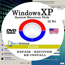 Direct Supplier - Compatible with WIN XP - 32 Bit DVD, Supports HOME edition. Recover, Repair, Restore or Re-install to Factory Fresh!