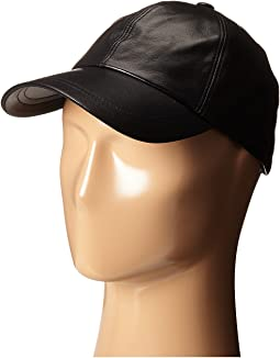 Hat Attack Leather Baseball Cap