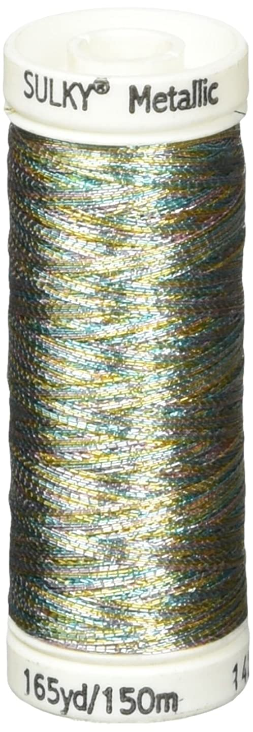 Sulky Metallic Thread for Sewing, Light Blue, Gold and Lavender ispzaovlkpyx