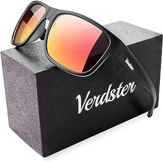c0d06c7f5c Verdster Gafas de sol Polarizadas TourDePro Para Hombres - Lentes Espejados  - Protección UV - Incluye