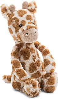 Jellycat Bashful Giraffe Stuffed Animal, Small, 7 inches