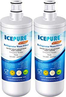 ICEPURE 3US-AF01 Under Sink Water Filter, Compatible with Standard Filtrete 3US-AF01, 3US-AS01, Whirlpool WHCF-SRC, WHCF-SUFC, WHCF-SUF, Pack of 2