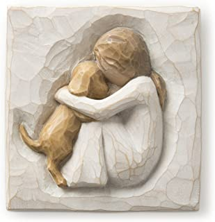 Willow Tree hand-painted sculpted Plaque, True (26511)
