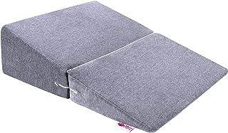 Meiz 三角枕 なだらかクッション 逆流性食道炎 ベッド 背もたれ 敬老の日 傾斜枕 高反発 マット 足枕 体位変換 足枕 介護用 クッション