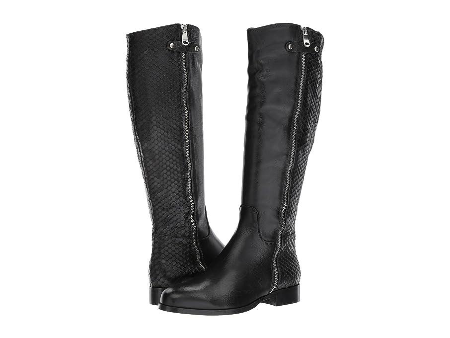 竜巻スタウト価値[コルダーニ] Cordani レディース Blakely ロングブーツ Black Leather/Python 40 (US Womens 9) - M [並行輸入品]