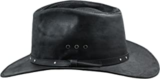 d52abbe1128 Sterkowski Cattle Leather Classic Western Cowboy Outback Hat