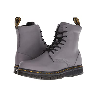 2e1bb183e Dr. Martens Lexington CUBEFLEX (Grey Sendal/Grey Knit 8) Boots