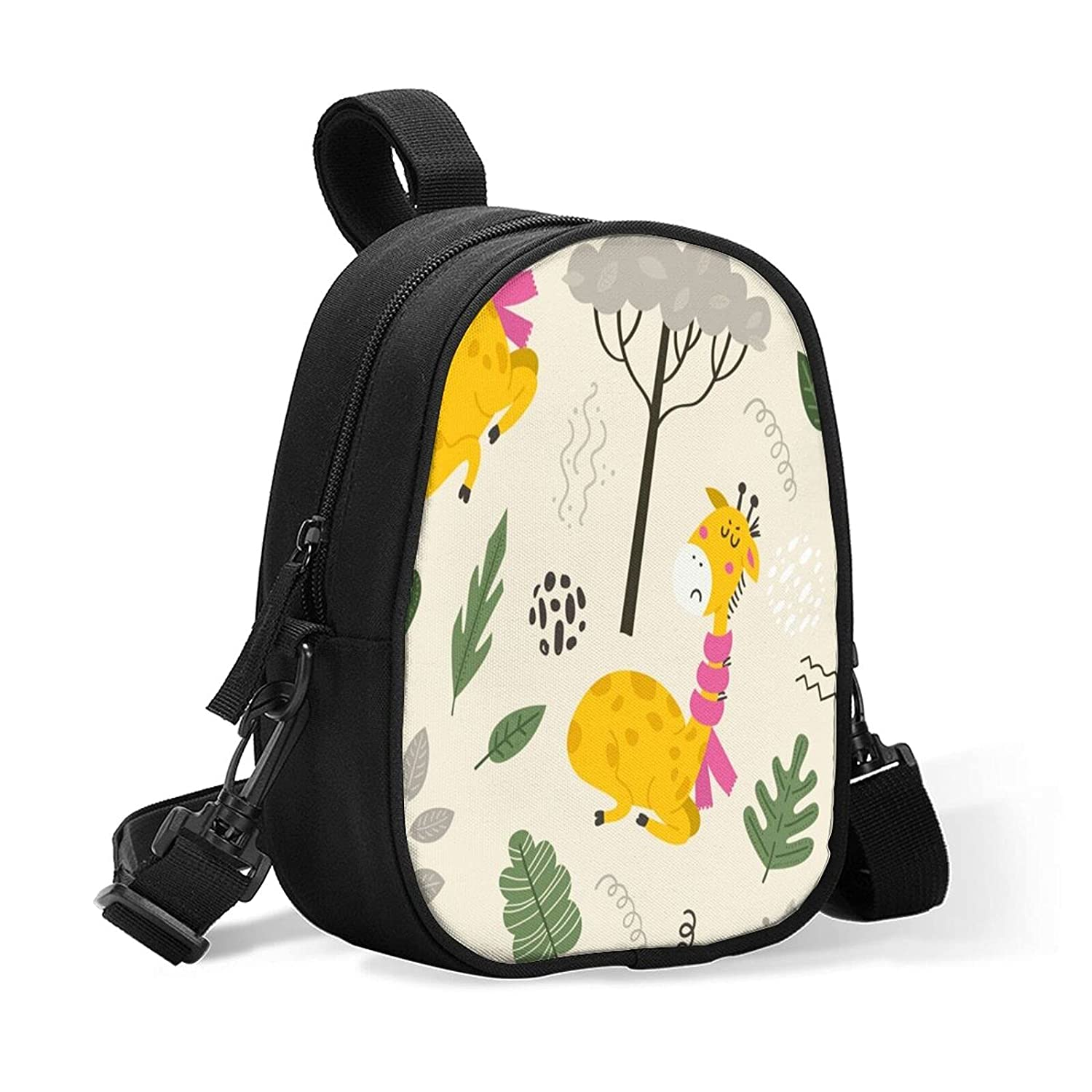 Cute Giraffes Doodle Insulated Baby Daycare New item for Memphis Mall Bottle Size Bag