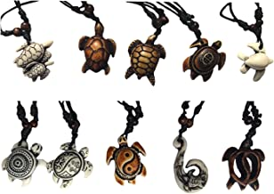 Best wooden turtle necklace Reviews
