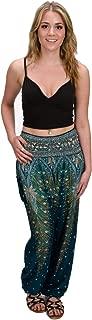 Harem Pants - S M L XL 2XL - Womens Plus Hippie Bohemian Yoga Elephant Beach Casual Lounge Comfortable Pants