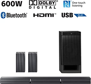 Sony Real 5.1ch Dolby Digital Soundbar  |  HT-RT3