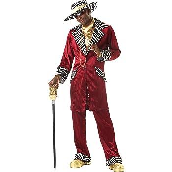 Disfraz de rapero de la vieja escuela para hombre: Amazon.es ...