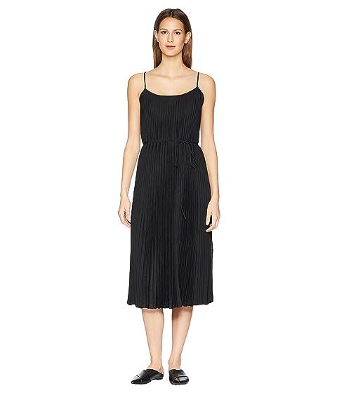 Vince de negro cami vestido plisado ArZwg6CqxA