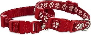 Bond & Co. Red Adjustable Collar 2 Pack