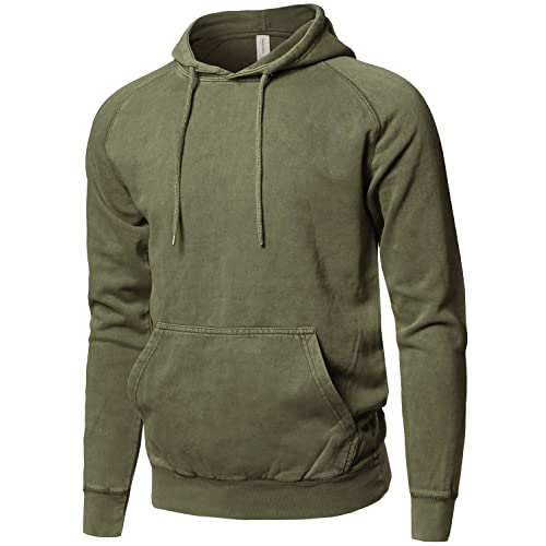 best authentic eeb4c c3d64 Olive Green Hoodie: Amazon.com