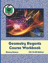 Geometry Regents Course Workbook: 2019-20 Edition