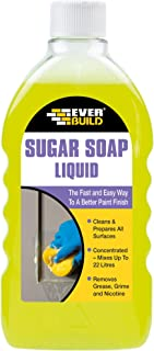 Everbuild EVBSOAPLIQ Sugar Soap Liquid Concentrate, 500 ml