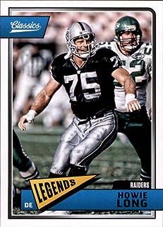 2018 Panini Classics #142 Howie Long Raiders Legend Football Card