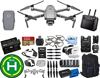 DJI Mavic 2 Pro with Smart Remote Controller 1 Battery (Total) Extreme PRO Accessory Bundle with Backpack, Drone Vest, Landing Pad, Filter Kit, Charging Hub + Much More