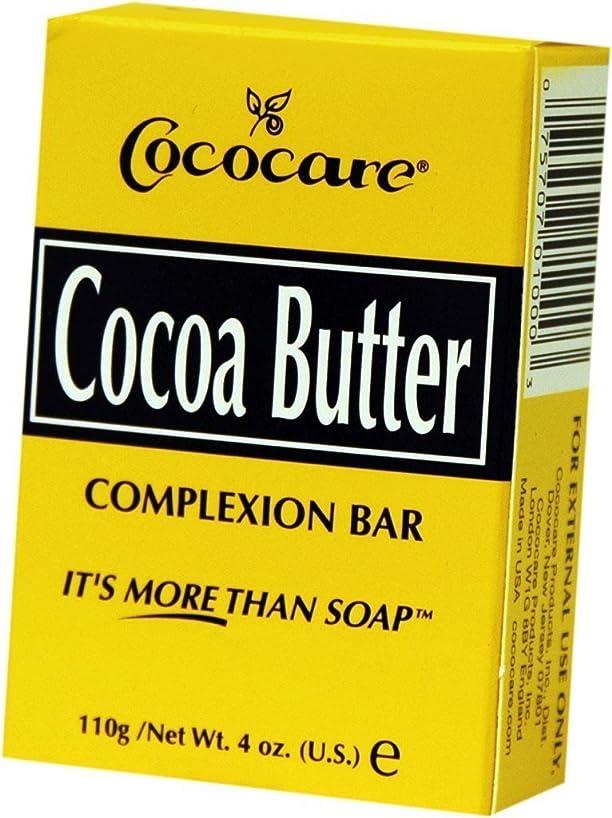 コカイン一瞬豊かにするCococare, Cocoa Butter Complexion Bar, 4 oz (110 g)