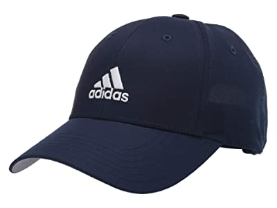 adidas Golf Kids Performance Branded Hat (Little Kids/Big Kids) (Collegiate Navy) Baseball Caps