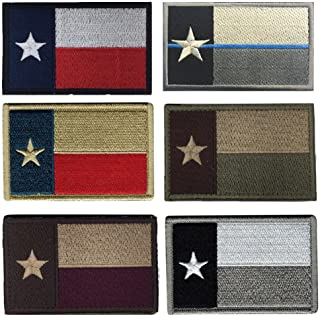Tactical Morale Military Backpack Bundle Rectangle Patches Texas Flag Patches