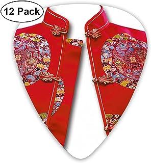 Ancient Chinese Red Vest Women's Clothing Ultra Light 0.46 Medium 0.73 Heavy 0.96mm Printed Round Flat Soft Plastic Jazz E...