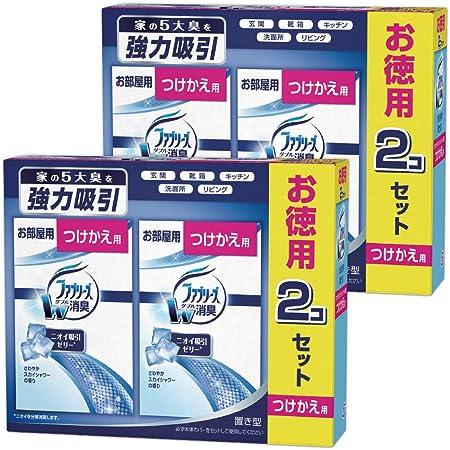 【まとめ買い】ファブリーズ 消臭芳香剤 お部屋用 置き型 さわやかスカイシャワーの香り つけかえ用 130g×4個