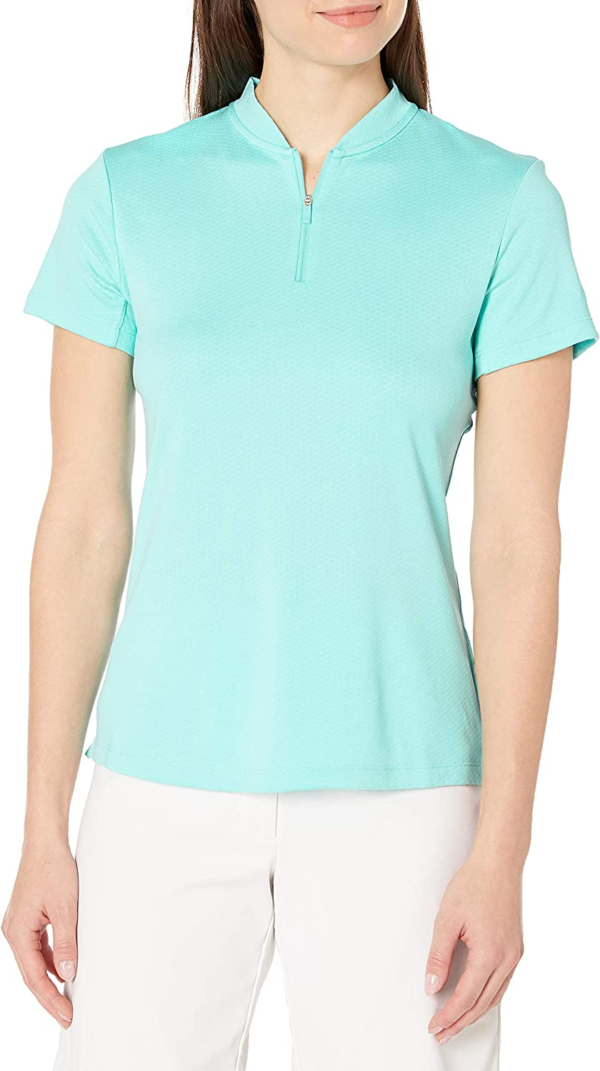 Super popular specialty store Nike Women's Dedication Dry Polo Short Chest Sleeve Open Left Blade