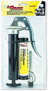 Lumax LX-1172 Black Mini-Pistol Grip Grease Gun with 3 oz. Cartridge